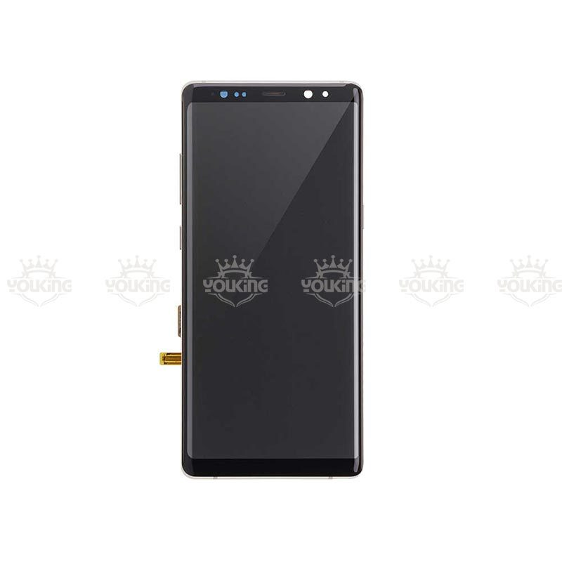 Replacement For SamSung Galaxy Note 8 Lcd Oled Display And Touch Screen Digitizer Assembly With Frame