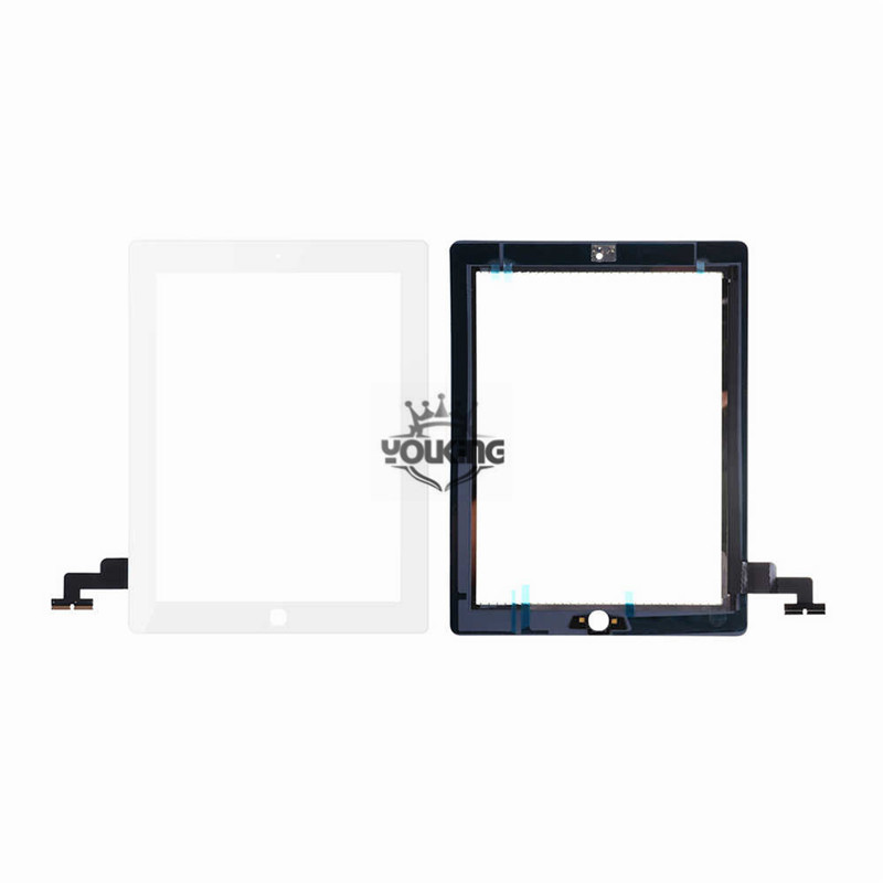 For ipad 2 Touch screen Digitizer White