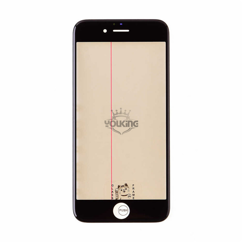 For Iphone 6s Glass Lens with Front Bezel and OCA Glue Sheet