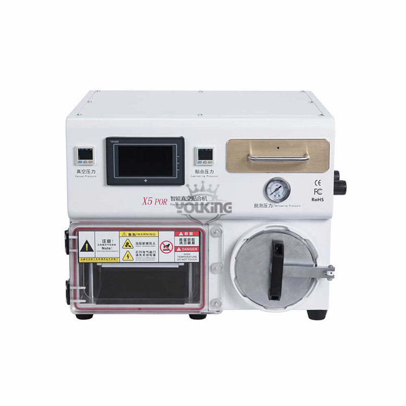 Curved Surface Laminating Machine for mobile lcd screen refurbishing