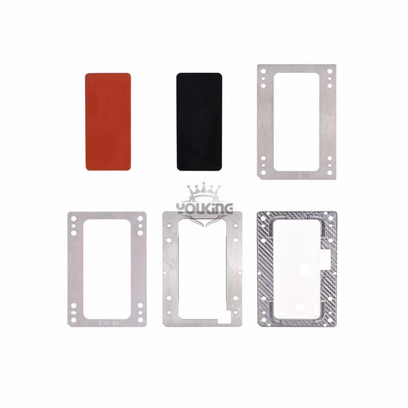 Positioning Mold with Laminating Rubber Mat for Apple iPhone XS