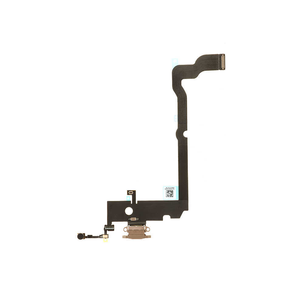 For Apple iPhone XS Max Charging Port Flex Cable Replacement - Gold