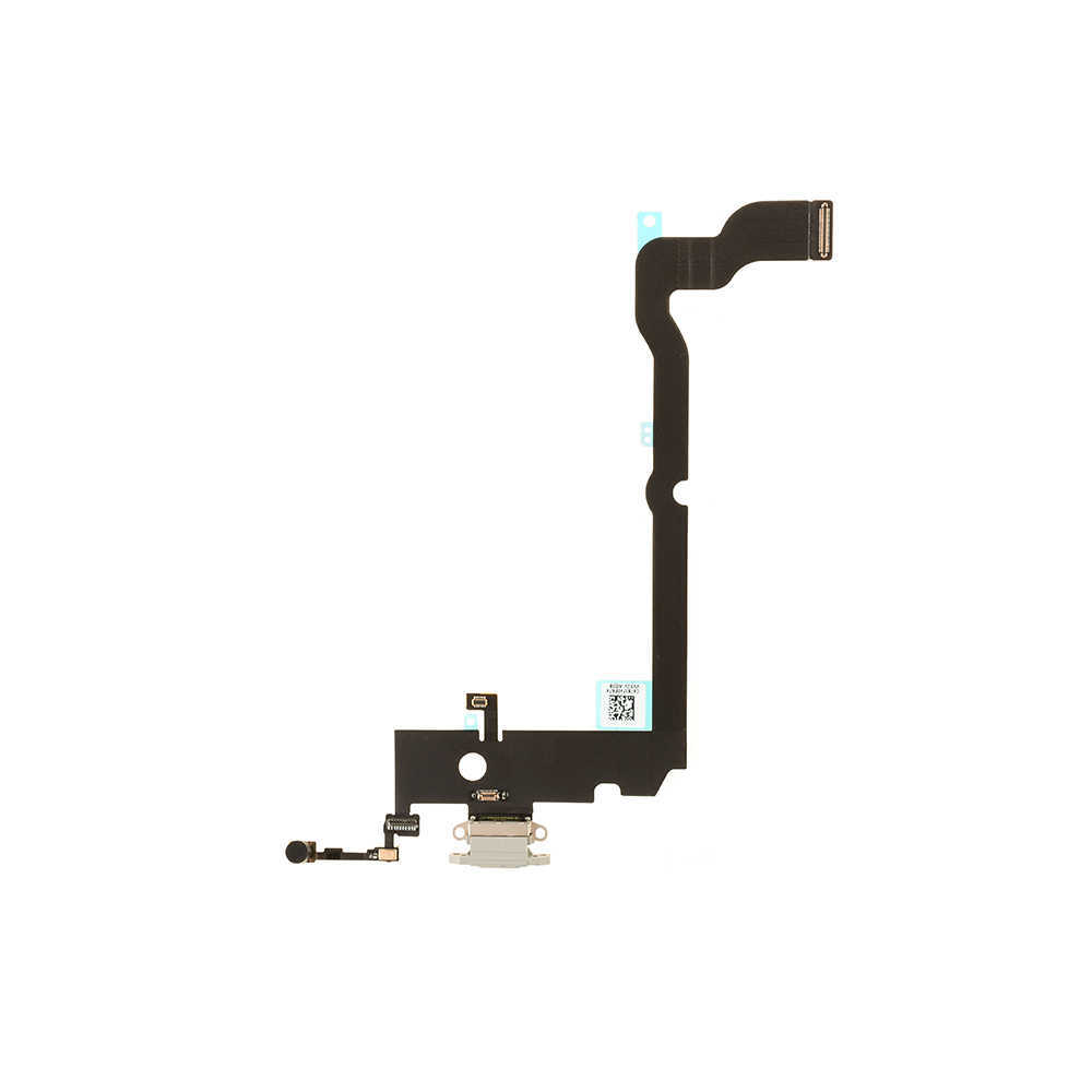 For Apple iPhone XS Max Charging Port Flex Cable Replacement - White