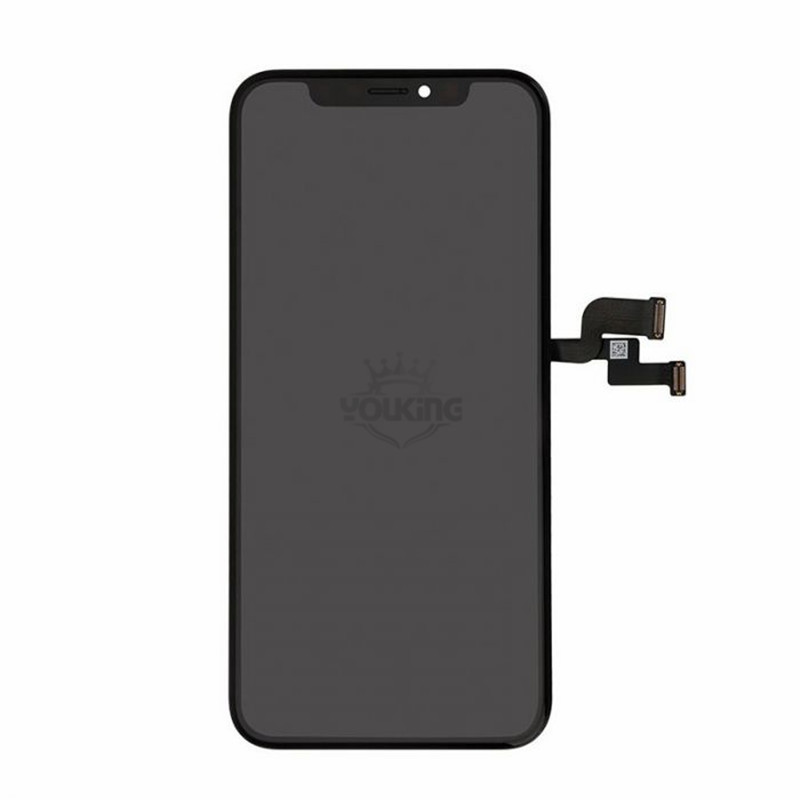 For Apple iPhone XS Rigid OLED Display and Touch Screen Digitizer Assembly with Frame Replacement