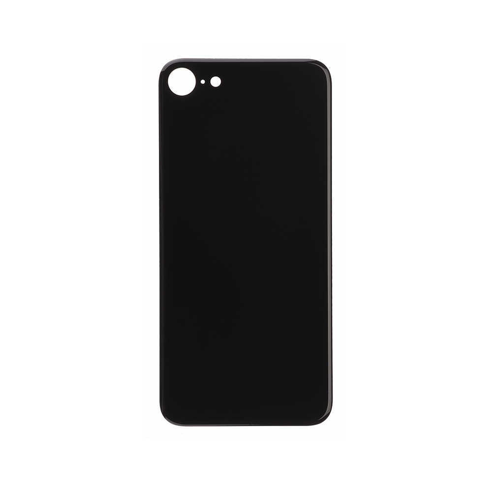 For Apple iPhone 8 Back Glass Battery Cover Assembly Replacement Black