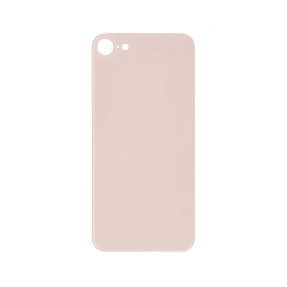 For Apple iPhone 8 Back Glass Cover With Big Camera Hole Replacement Gold