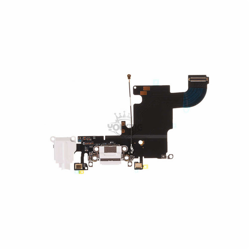 For Apple iPhone 6s Charging Port Flex Cable Replacement White
