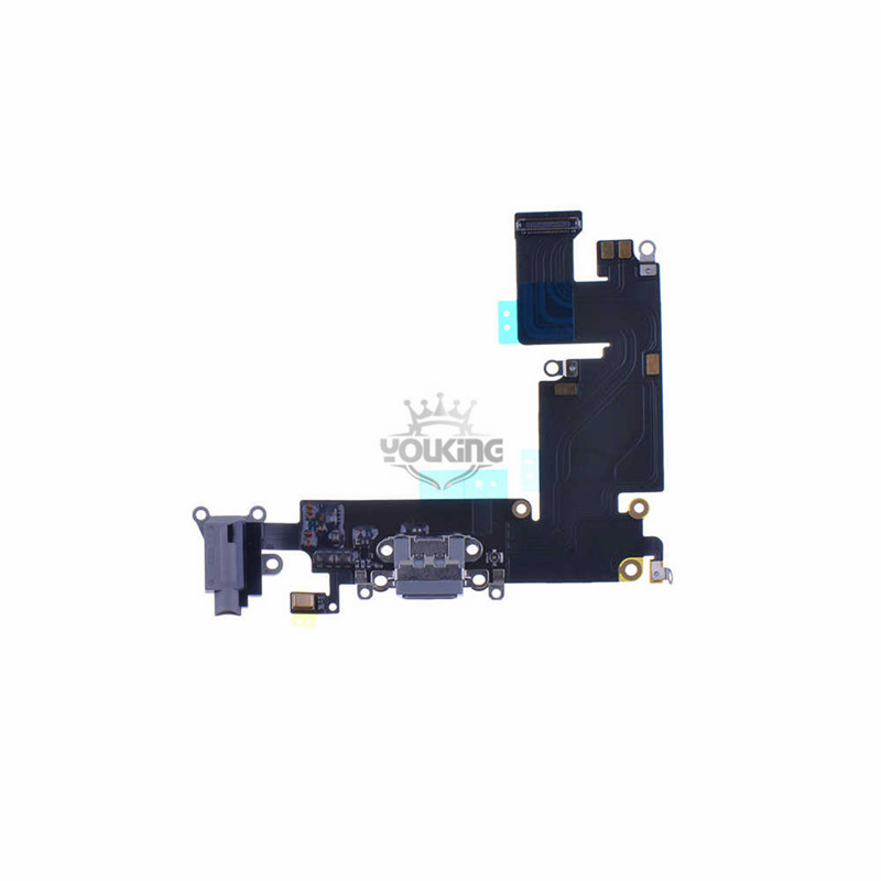 For Apple iPhone 6 Plus Charging Port Flex Cable Replacement Black