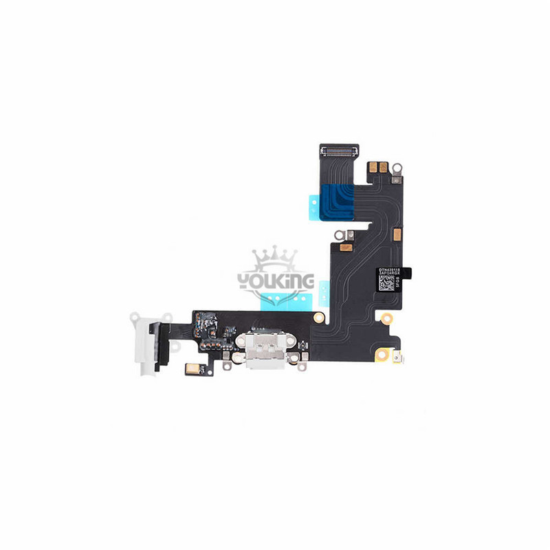 For Apple iPhone 6 Plus Charging Port Flex Cable Replacement White